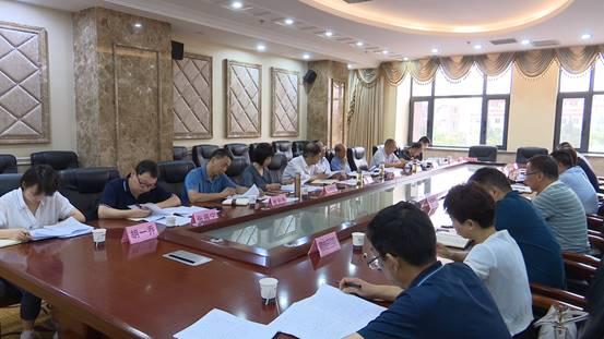 岐山县人大常委会调研全县上半年国民经济发展计划执行和重点项目建设情况